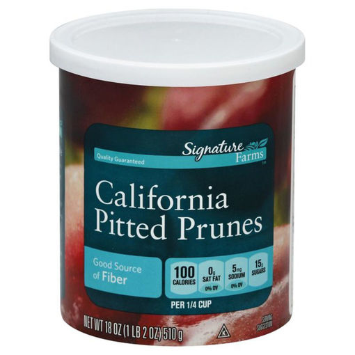 Picture of Signature Farms Prunes California Pitted