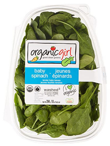 Picture of Signature Farms Spinach Baby Clamshell