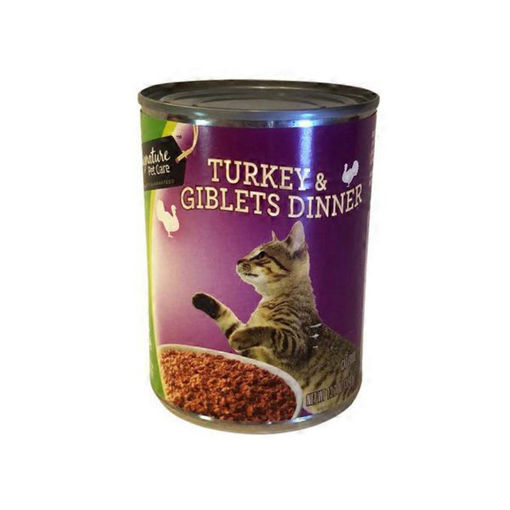 Picture of Signature Pet Care Cat Food Dinner Turkey & Giblets