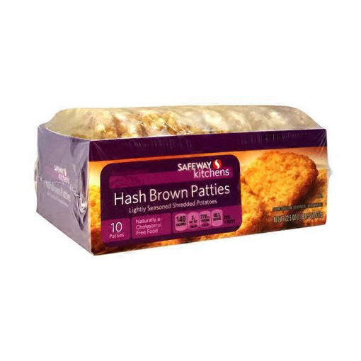 Picture of Signature SELECT Hash Browns Patties Shredded Potatoes Lightly Seasoned 10 Count