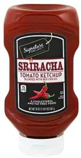 Picture of Signature SELECT Ketchup Tomato Sriracha