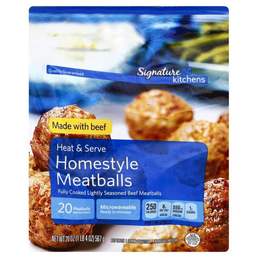 Picture of Signature SELECT Meatballs Homestyle