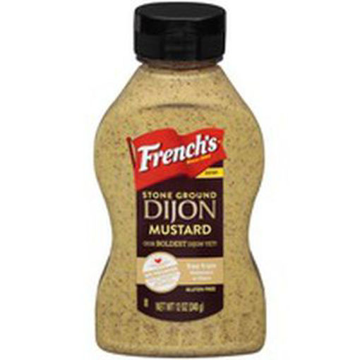 Picture of Signature SELECT Mustard Coarse Ground Dijon Bottle
