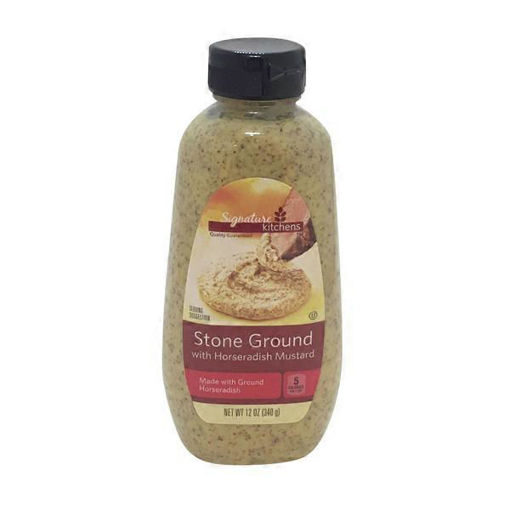 Picture of Signature SELECT Mustard Horseradish Stone Ground Bottle