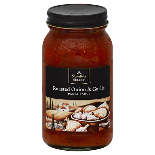Picture of Signature SELECT Pasta Sauce Roasted Onion & Garlic Jar