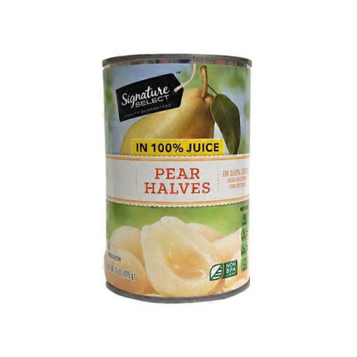 Picture of Signature SELECT Pear Slices Bartlett in 100% Pear Juice