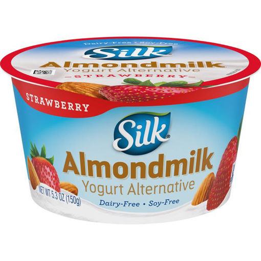 Picture of Silk Yogurt Alternative Dairy-Free Almondmilk Strawberry