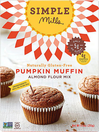 Picture of Simple Mills Almond Flour Mix Pumpkin Muffin