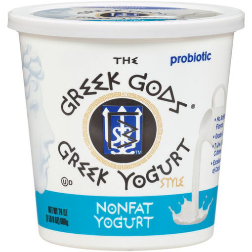 Picture of The Greek Gods Plain Nonfat Yogurt