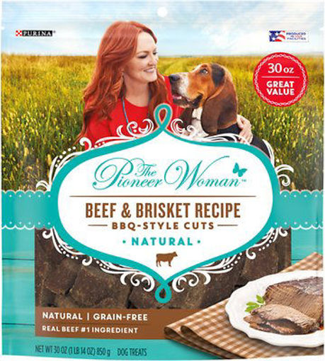 Picture of The Pioneer Woman Dog Treats Natural Bbq Style Cuts Beef & Brisket Recipe