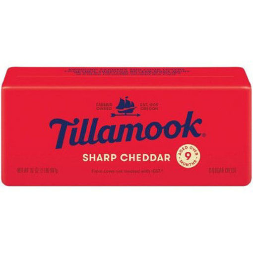 Picture of Tillamook Sharp Cheddar Cheese Loaf