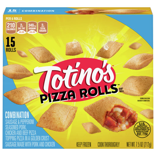 Picture of Totinos Pizza Rolls Combination 15 count