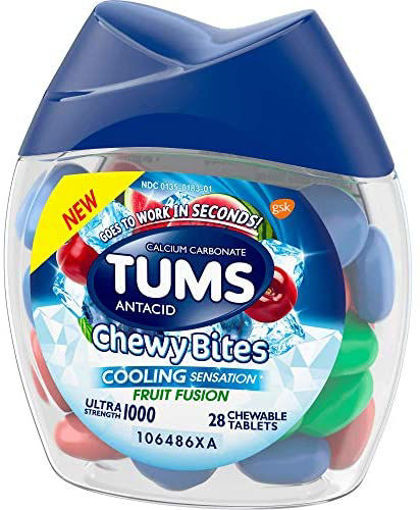 Picture of Tums Cooling Fruit Fusion Chewy Bites