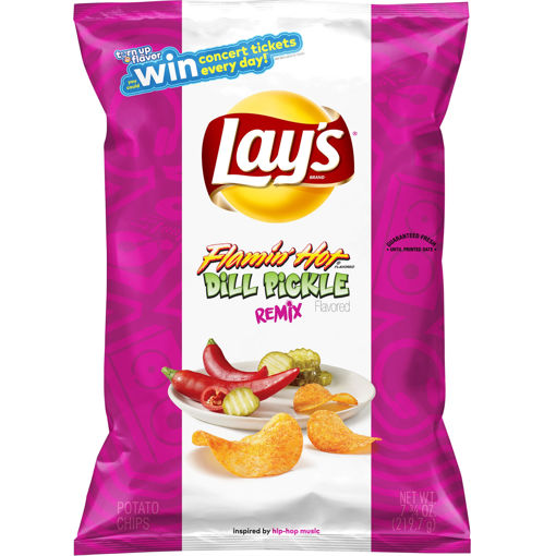 Picture of Xl Lays Flamin Hot Dill Pickle