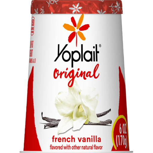 Picture of Yoplait Original Yogurt Low Fat French Vanilla