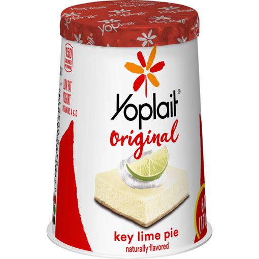 Picture of Yoplait Original Yogurt Low Fat Key Lime Pie
