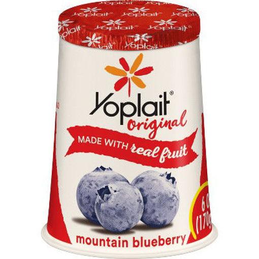 Picture of Yoplait Original Yogurt Low Fat Mountain Blueberry