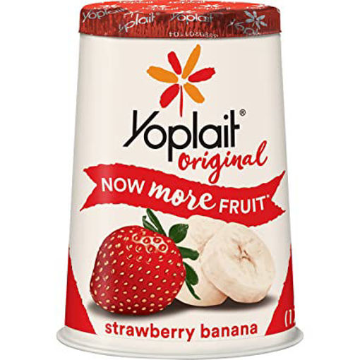 Picture of Yoplait Original Yogurt Low Fat Strawberry Banana