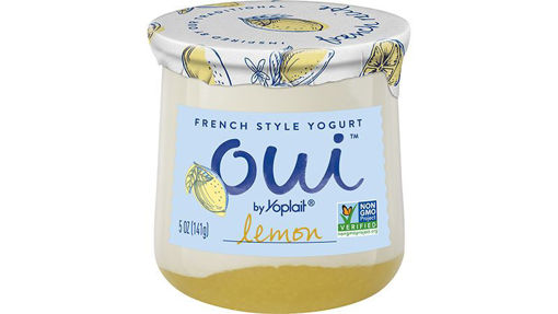Picture of Yoplait Oui Yogurt French Style Lemon