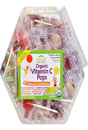 Picture of Yummyeart Pops Vit C Fmly Bag