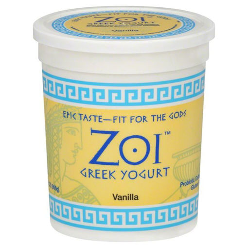 Picture of Zoi Greek Yogurt Vanilla