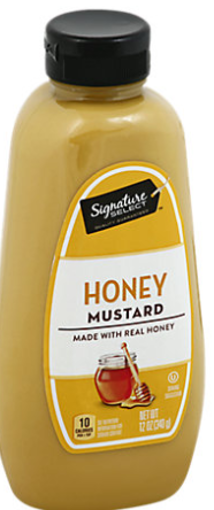 Picture of Signature SELECT Mustard Honey Bottle