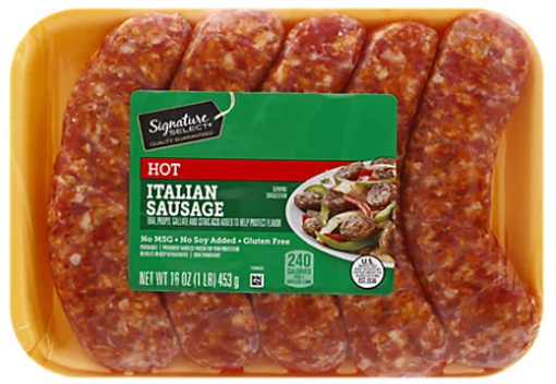 Picture of Signature SELECT Sausage Italian Hot