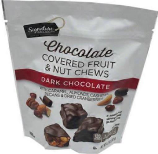 Picture of Signature SELECT Fruit & Nut Chews Dark Chocolate