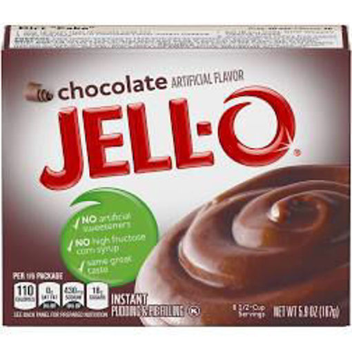 Picture of JELL-O Pudding & Pie Filling Instant Chocolate