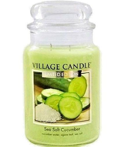 Picture of Village Wax Melts Sea Salt Cucumber