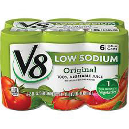 Picture of V8 Vegetable Juice Low Sodium Original