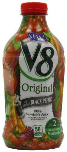 Picture of V8 Vegetable Juice Hint of Black Pepper