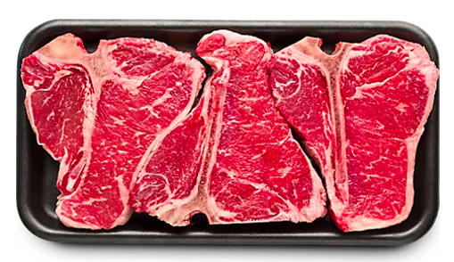 Picture of USDA Choice Beef Loin T Bone Steak Value Pack