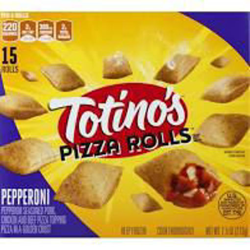 Picture of Totinos Pizza Rolls Pepperoni 15 Count