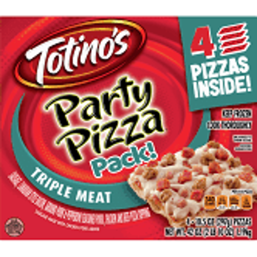 Picture of Totinos Party Pizza 3 Meat Frozen