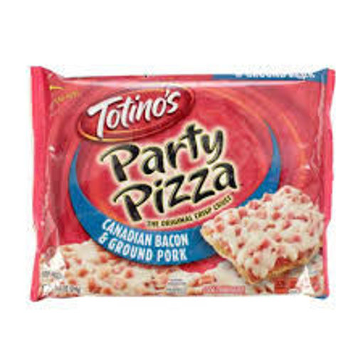 Picture of Totinos Party Pizza Canadian Style Bacon Frozen