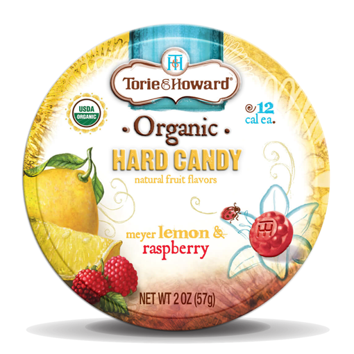 Picture of Torie & Howard Candy Tin Lemon Raspberry