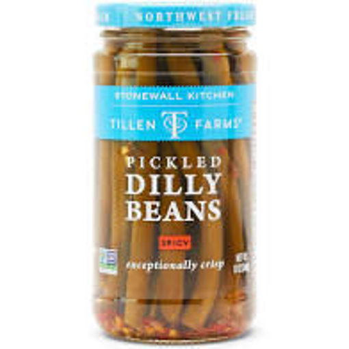 Picture of Tillen Farms Dilly Beans Pickled Spicy