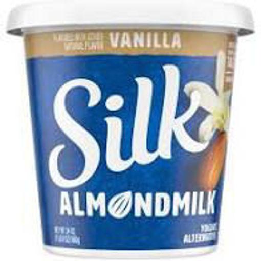 Picture of Silk Cultured Milk Yogurt Almond Vaniila
