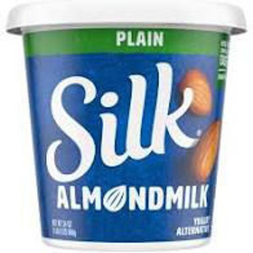 Picture of Silk Cultured Almond Plain Yogurt
