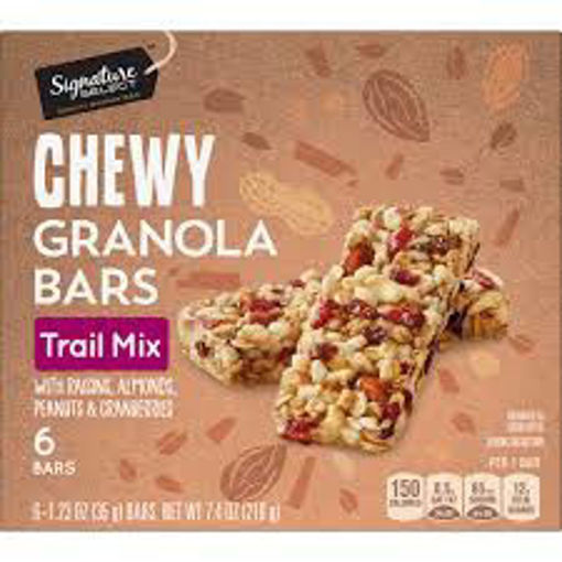 Picture of Signature SELECT Trail Mix Bars Chewy Fruit & Nut