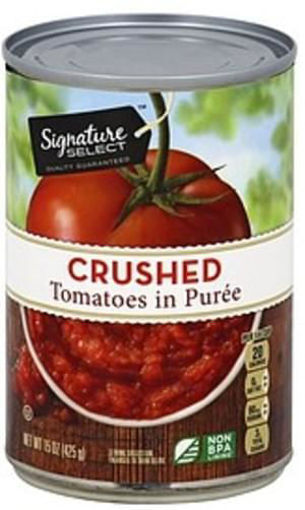Picture of Signature SELECT Tomatoes Crushed in Rich Puree