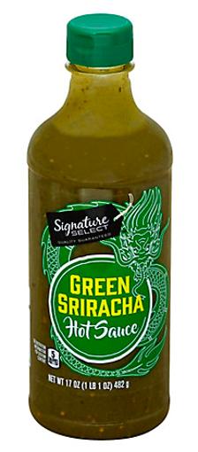 Picture of Signature SELECT Sriracha Sauce Green