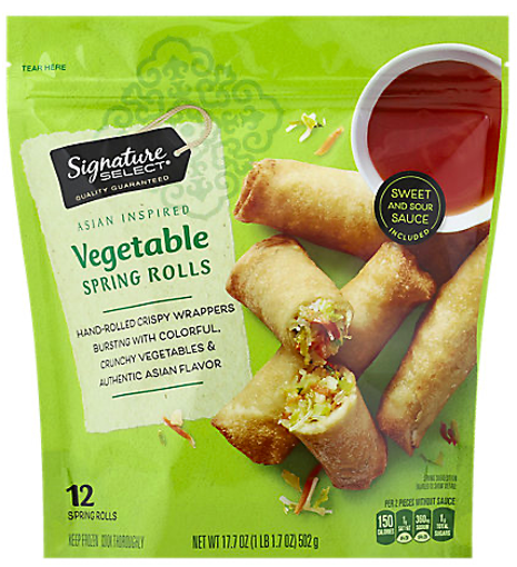Picture of Signature SELECT Spring Rolls Vegetable