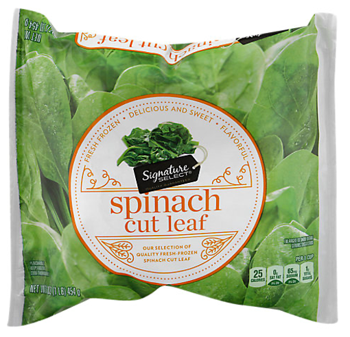 Picture of Signature SELECT Spinach Cut Leaf