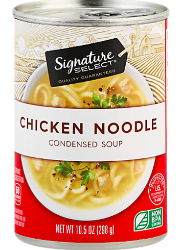 Picture of Signature SELECT Soup Condensed Chicken Noodle