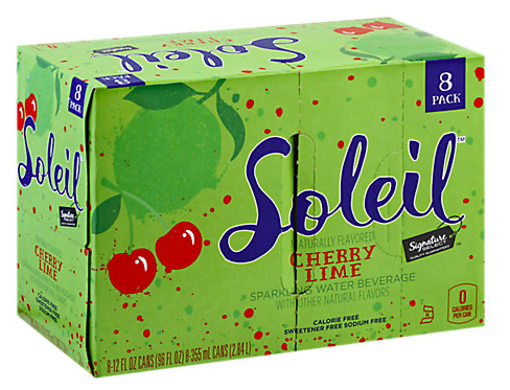 Picture of Signature SELECT Soleil Sparkling Water Cherry Lime