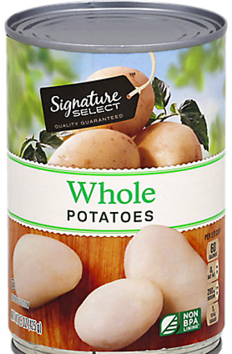 Picture of Signature SELECT Potatoes White Whole