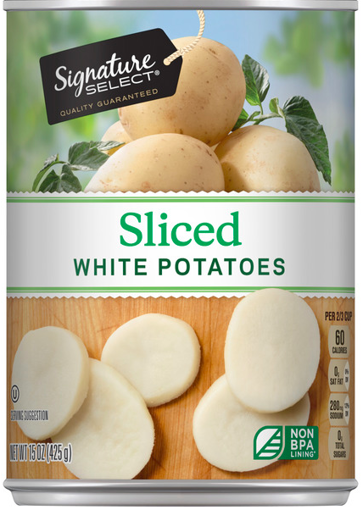 Picture of Signature SELECT Potatoes White Sliced