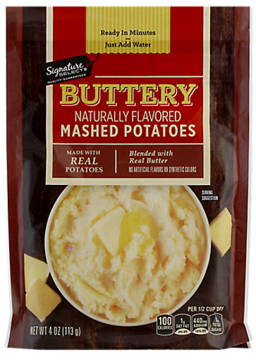 Picture of Signature SELECT Potatoes Mashed Buttery